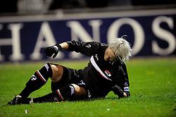 12-11-2009 VOETBAL: FC UTRECHT -AZ VROUWEN: UTRECHT<br /> Utrecht verliest met 1-0 van AZ / Jessica Fishlock<br /> ©2009-WWW.FOTOHOOGENDOORN.NL