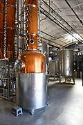 Distiller Equipment at the Blinking Owl Distillery in Orange County