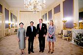 Koning ontvangt Chinese premier Li Keqiang