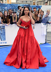 Rihanna attending the European premiere of Valerian and the City of a Thousand Planets at Cineworld in Leicester Square, London