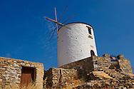 Windmills of  Ano Syros,  Syros Island [ ????? ] , Greek Cyclades Islands