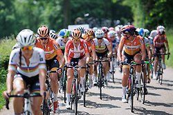 Boels Dolmans look to take control at Boels Hills Classic 2016. A 131km road race from Sittard to Berg en Terblijt, Netherlands on 27th May 2016.