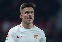 January 16, 2019 - Sevilla, Andalucia, Spain - Roque Mesa of Sevilla FC during the Copa del Rey match between Sevilla FC v Athletic Club at the Ramon Sanchez Pizjuan Stadium on January 16, 2019 in Sevilla, Spain (Photo by Javier Montaño/Pacific Press) (Credit Image: © Javier MontañO/Pacific Press via ZUMA Wire)