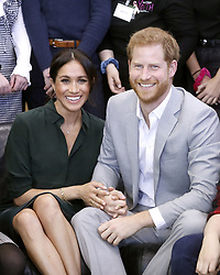 The Duke and Duchess of Sussex at The Joff, Peacehaven Youth Centre, East Sussex, as part of their first joint official visit to Sussex.