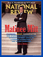 Mitt Romney portrait photographed for National Review Magazine