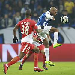 December 6, 2017 - Na - Porto, 06/12/2017 - Football Club of Porto received, this evening, AS Monaco FC in the match of the 6th Match of Group G, Champions League 2017/18, in Estádio do Dragão. Almamy Touré; Brahimi  (Credit Image: © Atlantico Press via ZUMA Wire)