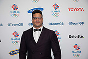 Retired English professional middleweight boxer Anthony Ogogo during Team GB's annual ball at Old Billingsgate on the 21st November 2019 in London in the United Kingdom.