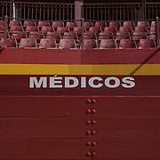 Stadium with empty seats