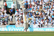 Adam Lyth of England during the third day of the 5th Investec Ashes Test match between England and Australia at The Oval, London, United Kingdom on 22 August 2015. Photo by Ellie Hoad.