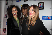 JEANETTE CALLIVA; LORRAINE PASCALE; HEATHER KERZNER, White By Agadir -  launch party <br /> to promote the Moroccan resort of Agadir , Il Bottaccio, 9 Grosvenor Place, London, 4 November 2014