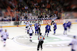Ice-hockey game Slovenia vs Slovakia at second game in  Relegation  Round (group G) of IIHF WC 2008 in Halifax, on May 10, 2008 in Metro Center, Halifax, Nova Scotia, Canada. Slovakia won after penalty shots 4:3.  (Photo by Vid Ponikvar / Sportal Images)