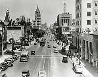 1936 Hollywood Blvd. & Orange Dr.