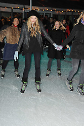 GABRIELLA ANSTRUTHER-GOUGH-CALTHORPE at Skate presented by Tiffany & Co at Somerset House, London on 22nd November 2010.