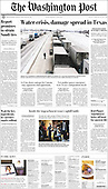 February 19, 2021 (USA): Front-page: Today's Newspapers In USA