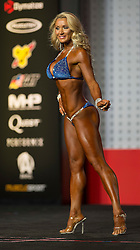 Sept.16, 2016 - Las Vegas, Nevada, U.S. -  NINA ROSS competes in the Bikini Olympia contest during Joe Weider's Olympia Fitness and Performance Weekend.(Credit Image: © Brian Cahn via ZUMA Wire)