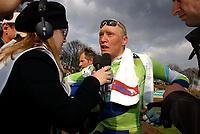 Sykkel<br /> Foto: Dppi/Digitalsport<br /> NORWAY ONLY<br /> <br /> UCI PRO TOUR<br /> PARIS - ROUBAIX 2005 - FRANCE -  10/04/2005 <br /> <br /> MARGNUS BÄCKSTEDT (SWE) / LIQUIGAS BIANCHI