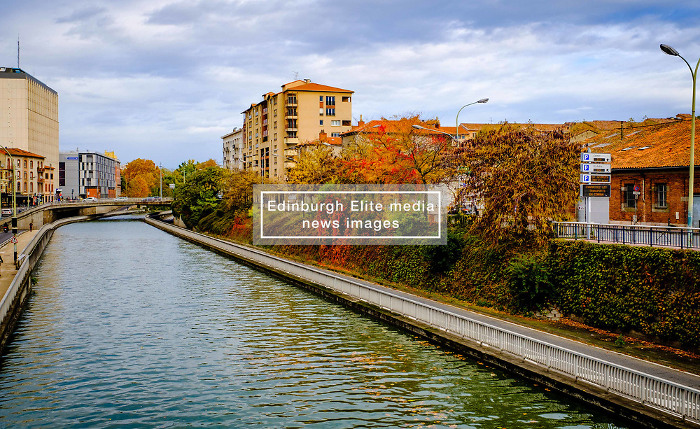 Autumn scene at the Canal du Midi in Toulouse, France<br /> <br /> (c) Andrew Wilson   Edinburgh Elite media