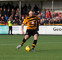Alloa Athletic's Greg Spence misses his penalty. Athletic 4 v 3 Brechin City (Brechin won 5-4 on penalties), Ladbrokes Championship Play-Off 2nd Leg at Alloa Athletic's home ground, Recreation Park, Alloa.