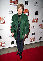 Emma B  at the Message in a Bottle press night , Peacock Theatre, London
