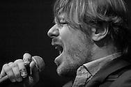 Lech Wierzynski, lead singer for the California Honeydrops.
