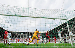 Samir Handanovic of Slovenia during the EURO 2016 Qualifier Group E match between Slovenia and England at SRC Stozice on June 14, 2015 in Ljubljana, Slovenia. Photo by Vid Ponikvar / Sportida