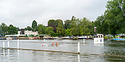 Henley-On-Thames, Berkshire, UK.,Thursday, 12.08.21, Stoner Challenge  Trophy,  Wallingford Rowing Club and London Rowing Club, move away from Hinksey Sculling School. the 1Mile and 1/8 box,   2021 Henley Royal Regatta, Henley Reach River Thames, [ Mandatory Credit © Peter Spurrier/Intersport Images], <br /> London and Wallingford Crew Bow Katie GREVES and Jess EDDIE