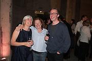 MARCUS TAYLOR;  RACHEL WHITEREAD The Tanks at Tate Modern, opening. Tate Modern, Bankside, London, 16 July 2012