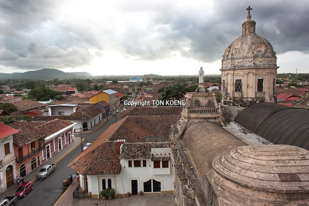 view on granada, nicaragua