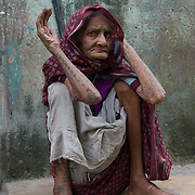 Premibhai (80) is a kumbhar woman from Gujarat who came to Dharavi in 1933. Augustr 2007