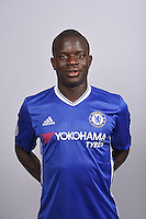 COBHAM, ENGLAND - AUGUST 11: N'Golo Kante of Chelsea during the Official Portrait session at Chelsea Training Ground on August 11, 2016 in Cobham, England. (Photo by Darren Walsh/Chelsea FC via Getty Images)