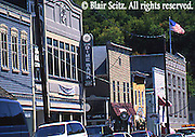 Hawley, Wayne Co., PA,  Main St. Building Facades