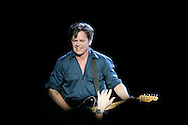 (Tribune Photo/SANTIAGO FLORES)<br />  John Mellencamp fired up and rocked out ND's Joyce Center on Tuesday.
