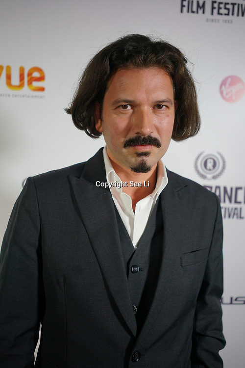 London, England, UK. 25th September 2017. Actor Boris Glibusic of Nothing but the wind attend Raindance Film Festival Screening at Vue Leicester Square, London, UK