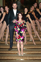 Sheena Easton and the company of 42nd Street - Photocall, Theatre Royal Drury Lane, London UK, 17 November 2016, Photo by Richard Goldschmidt