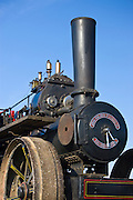 John Fowler steam ploughing engine at Great Barrington, Gloucestershire