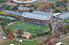 Yale Athletic Fields | Coxe Cage New Skylight & Roof 2013