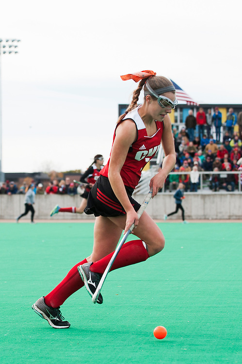 The Vermont state division I field hockey championship game between the Champlain Valley Union Redhawks and the South Burlington Rebels at Moulton/Winder field on Saturday afternoon October 31, 2015 in Burlington, Vermont.