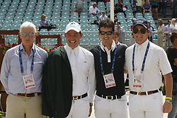 Spaline Robert (IRL), O'Connor Cian (IRL), Twomey Billy (IRL), Sweetnam Shane (IRL)<br /> FEI NAtions Cup of Rome 2012<br /> © Hippo Foto - Beatrice Scudo
