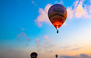 Hot air balloon festival was held in Israel in August 2019