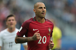June 24, 2017 - Saint Petersburg, Russia - Ricardo Quaresma of the Portugal national football team vie for the ball during the 2017 FIFA Confederations Cup match, first stage - Group A between New Zealand and Portugal at Saint Petersburg Stadium on June 24, 2017 in St. Petersburg, Russia. (Credit Image: © Igor Russak/NurPhoto via ZUMA Press)