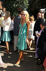 The HON.SOPHIA HESKETH at the wedding of musician Jools Holland to Lady Crystabel Durham held at Cooling Village Church, Cooling, Kent on 30th August 2005.<br /><br />NON EXCLUSIVE - WORLD RIGHTS