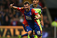 GOAL /   James McArthur of Crystal Palace celebrates after scoring his sides 2nd goal to make it 2-2.Premier League match, Crystal Palace v Liverpool at Selhurst Park in London on Saturday 29th October 2016.<br /> pic by John Patrick Fletcher, Andrew Orchard sports photography.