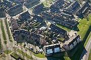 Nederland, Utrecht, Houten, 11-02-2008; zonnepanelen op de daken van huizen in nieuwbouwwijk; eengezinswoningen, nieuwbouw, woonwijk, VINEX lokatie,..luchtfoto (toeslag); aerial photo (additional fee required); .foto Siebe Swart / photo Siebe Swart..