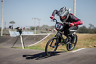 #36 (BULDINSKA Vanesa) LAT  at Round 9 of the 2019 UCI BMX Supercross World Cup in Santiago del Estero, Argentina