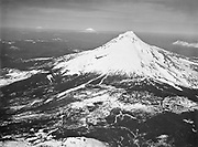 9969-6433. Aerial view, Mt. Hood and Government Camp ski area. April 27, 1946.