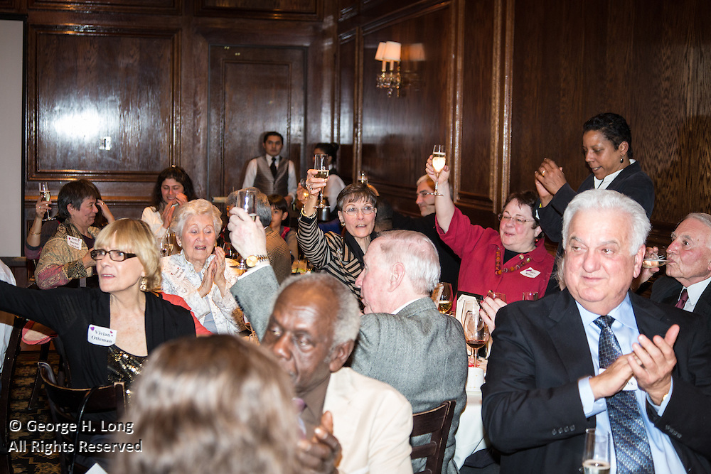 Cathy Long's 90th birthday party at Maggiano's Little Italy restaurant in Washington, DC