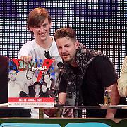 NLD/Amsterdam/20110414 - Uitreiking 3FM Awards 2011, de Jeugd van Tegenwoordig, Willie Wartaal, Vieze Fur, Peter Fabergé, Bas Bron