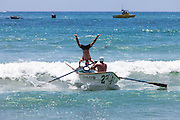 Ocean Festival Dorey Boat Races At The Pier In San Clemente California