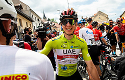 Tadej POGACAR of UAE TEAM EMIRATES after the 5th Stage of 27th Tour of Slovenia 2021 cycling race between Ljubljana and Novo mesto (175,3 km), on June 13, 2021 in Slovenia. Photo by Vid Ponikvar / Sportida