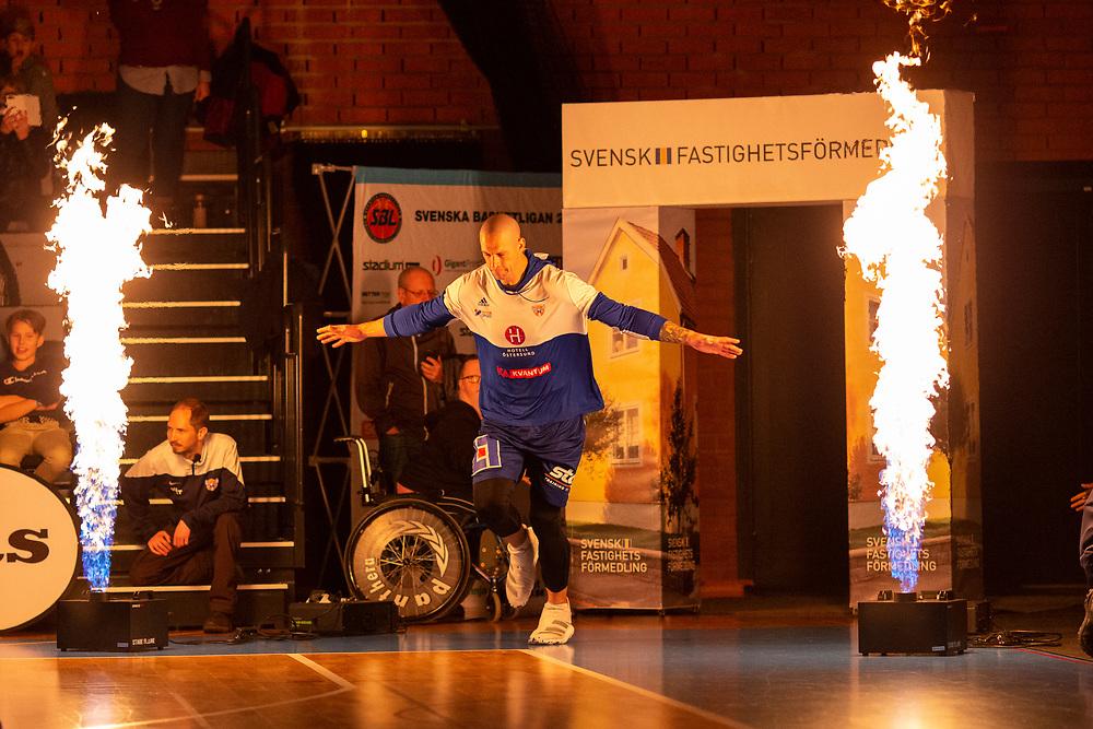 ÖSTERSUND 20191031<br /> Jämtlands RT Guinn  under torsdagens match i basketligan mellan Jämtland Basket och Umeå BBK i Östersunds Sporthall.<br /> <br /> Foto: Per Danielsson/Projekt.P